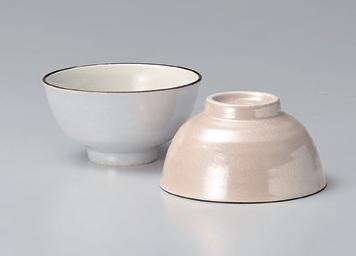 ラスターピンク茶碗