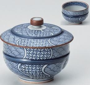 地紋織蓋付千茶
