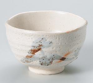 白志野井戸抹茶碗