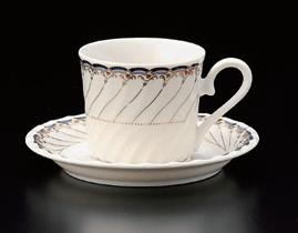 ブルーオルレアンコーヒーカップ(碗のみ-受け皿なし)