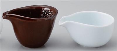 白ドレッシング鉢