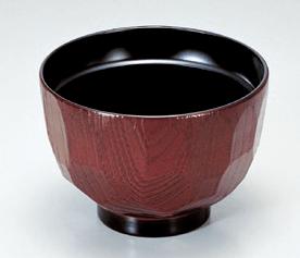 [A]3.2寸亀甲汁椀溜内黒