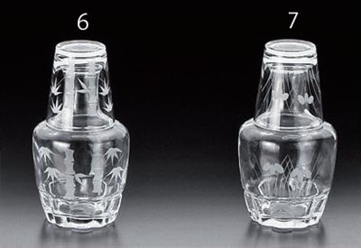 246075竹切子冠水瓶