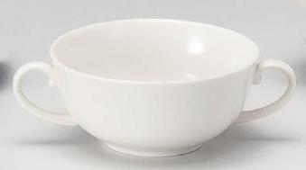 NBプレーン両手スープカップ