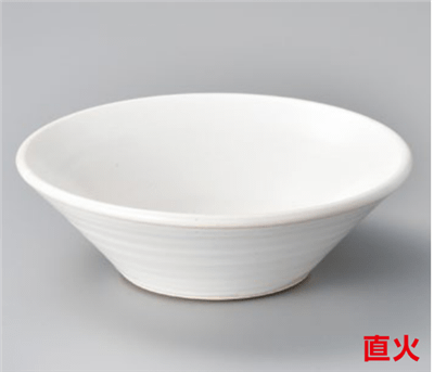 白釉耐熱ラーメン鉢