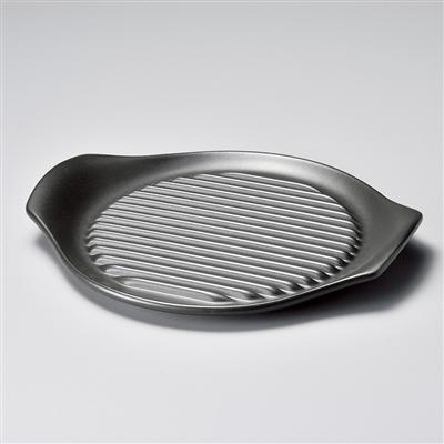 黒26㎝ステーキ皿