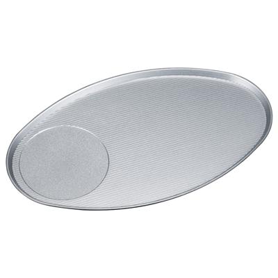 [A]5.5寸小判皿 銀塗