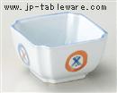 丸紋角4.0小鉢