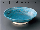青彩釉9.0鉢