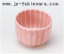 ピンク菊型珍味