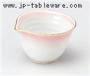 ピンク吹片口形珍味(小)