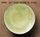 手造り灰釉10.0高台鉢