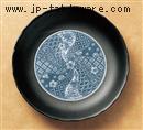 黒マット祥瑞12.0皿