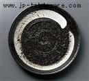 黒刷毛目盛皿