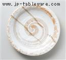 ひすい石目10.0皿