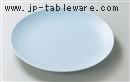 青地13.0丸皿