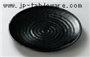 油滴天目11.0丸皿