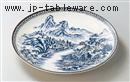 鈴峰山水13.0丸皿