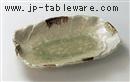 砂ビードロ12.0変形皿