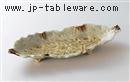 砂ビードロ13.0木ノ葉皿