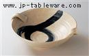 呉須刷毛目9.0手付盛鉢