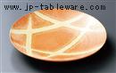 黄釉吹9.0皿