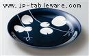 蓮パスタ皿