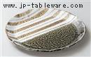 オリベストライプ9.0丸皿