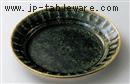 織部しのぎ6.0丸皿