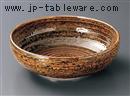 伊賀オリベ巻8.0盛鉢