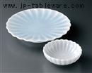 青白磁菊型天皿