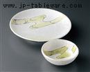 金彩ヒワ波絵7.0丸皿