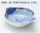 呉須魚型呑水