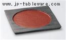 ジャパネスク正角丸皿