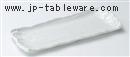 白荒ソギ29cmサンマ皿