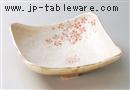 平安桜7.5正角鉢