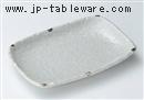 粉引水玉6.0焼物皿