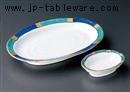 金銀彩焼物皿