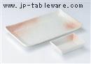 桜吹雪焼物皿
