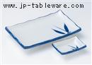 布目笹7.0長角皿