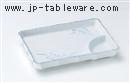 マット萩7.0長角仕切皿