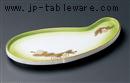 花松葉ヒサゴ型突出皿