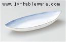 渕金ブルー前菜鉢