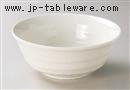 クリーム釉75鉢