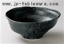 黒銀手造風大鉢