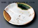 三彩芦5.5丸皿