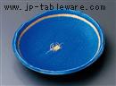 青翠蟹絵6.0和皿