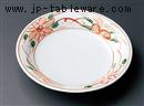 白釉花絵5.0フルーツ皿