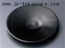 黒釉丸5.0皿