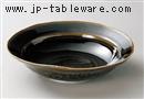 織部7.0楕円鉢